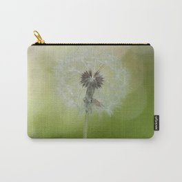 Dandelion in LOVE- Flower Floral Flowers Spring Carry-All Pouch