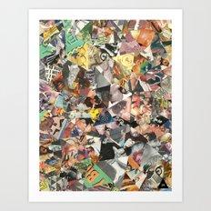 cateyewrestleparty Art Print