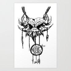nightmare attractor Art Print