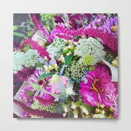 Flowers 1 Metal Print