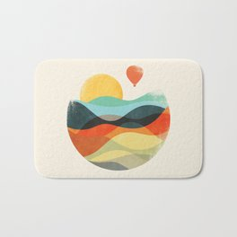 Let the world be your guide Bath Mat