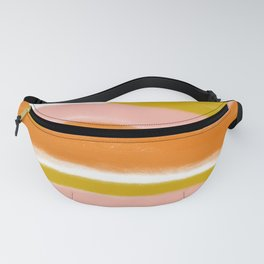 morning sunrise stripes Fanny Pack