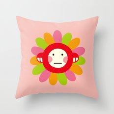 Redmon Flower Throw Pillow