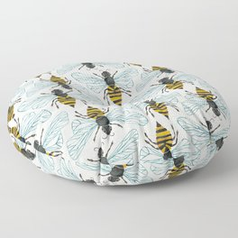 Honey Bee Floor Pillow