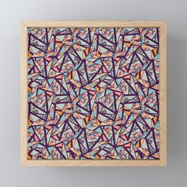 Abstract Vector Seamless Framed Mini Art Print