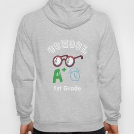 1st First Grade Climate Change Observer Back to School design Hoody