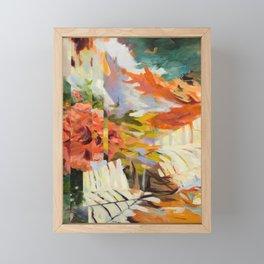 Seeking Stillness [detail 2] Framed Mini Art Print