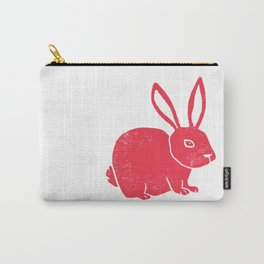 One Red Bunny Carry-All Pouch