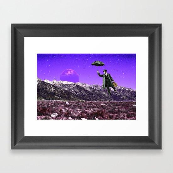 Business Trip Framed Art Print