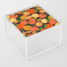 Oranges on black Acrylic Box