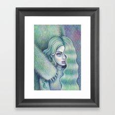 We May All Have A Monster Inside Framed Art Print