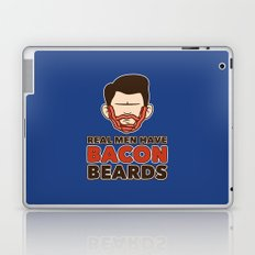 Bacon Beard (men's version) Laptop & iPad Skin
