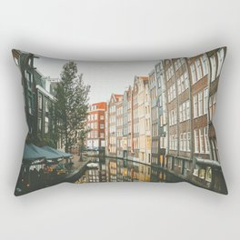 Amsterdam Canals Rectangular Pillow