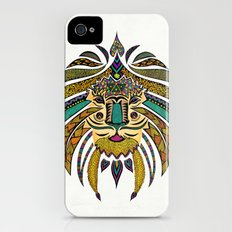 Emperor Tribal Lion iPhone (4, 4s) Slim Case