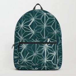 Japanese Geometry - Emerald Backpack