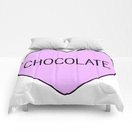 Chocolate Heart Comforters