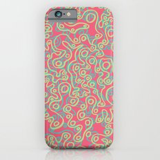 Neon Bubbles iPhone 6s Slim Case