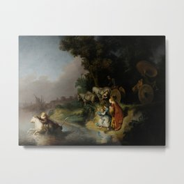 Rembrandt - The Abduction of Europa Metal Print