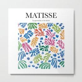 Matisse - La perruche et la sirène Metal Print