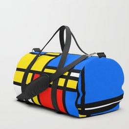 Mondrian Style Duffle Bag