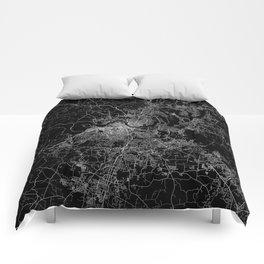 nashville map Comforters
