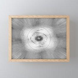 Metallic Swirl Framed Mini Art Print