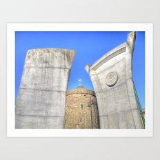 Reginald's Tower, Waterford City, Ireland Art Print
