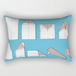 Paper Planes Make Broken Hearts Rectangular Pillow