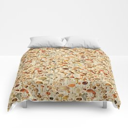 Vintage Mushroom Designs Collection Comforters