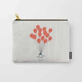 Penguin Balloons Carry-All Pouch