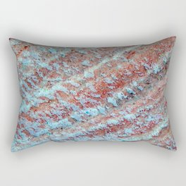 Food and texture of dishes cooking ingredient Rectangular Pillow