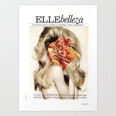 9 COLLAGE SERIES #4 Art Print