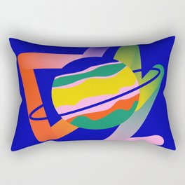 Pop Planet Rectangular Pillow