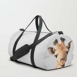 Baby Giraffe - Colorful Duffle Bag