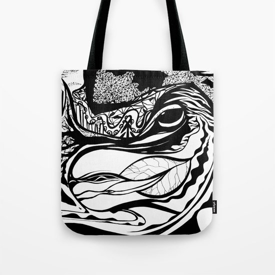 Jungle City Tote Bag