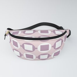 Candy Sweets Pink Champagne Pattern Fanny Pack