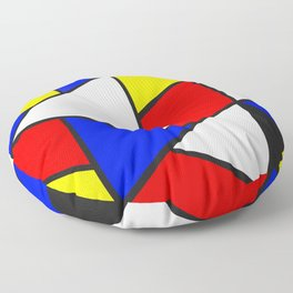 Primary Color Block (triangle) Floor Pillow