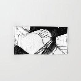 asc 488 - Les mains chaudes (Until his hands burn) Hand & Bath Towel
