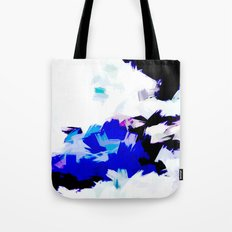 BLOSSOMS - BLUE Tote Bag