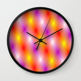 The lights of show business Wall Clock