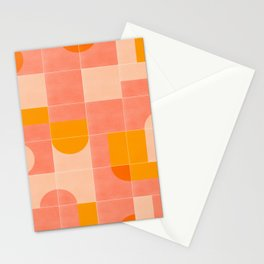 Retro Tiles 03 #society6 #pattern Stationery Cards