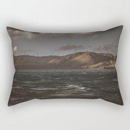 Troubled Water Rectangular Pillow