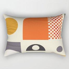 Mid-century no1 Rectangular Pillow