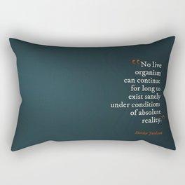Absolute Reality Rectangular Pillow