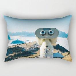 Alps of Switzerland Viewpoint Rectangular Pillow