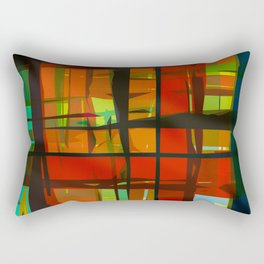 Live In Color #4 Rectangular Pillow