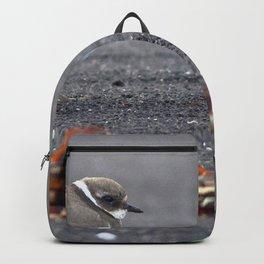 Watercolor Human Impact, Trash 15, Can Backpack