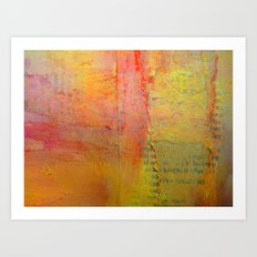 March to the Beat... Art Print