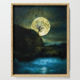 The Moon and the Tree. Serving Tray