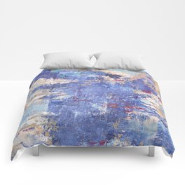 Cloudy Reflections Comforters